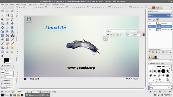 LinuxLite-GIMP