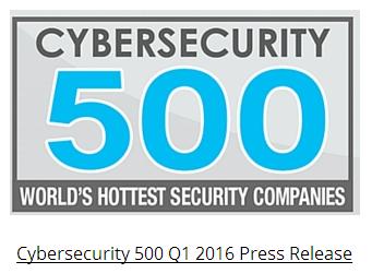 网络安全创新500强发布2016Q1榜单 4中国公司上榜