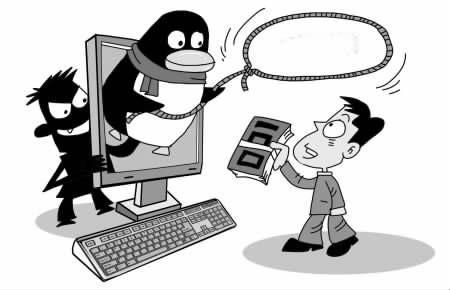 """男子求""""黑客""""寻回QQ密码 骗子冒充黑客诈骗"""
