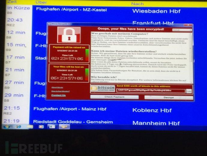 WannaCry阴魂不散 仍然是最流行的勒索软件