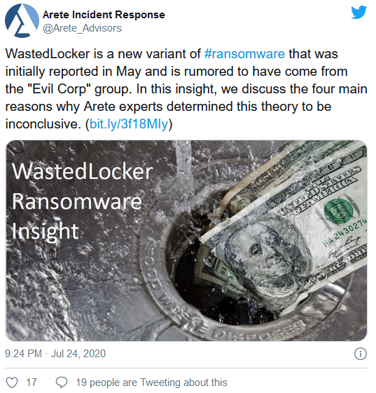 """佳明遭勒索病毒攻击:被曝向黑客支付数百万美元""""赎金"""""""